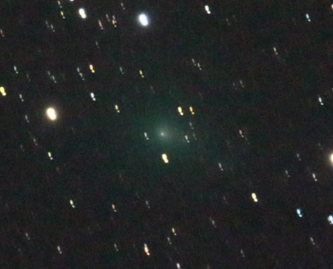 Comet photo by Paul Sutherland