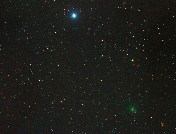 Comet 41P with M97 and M108