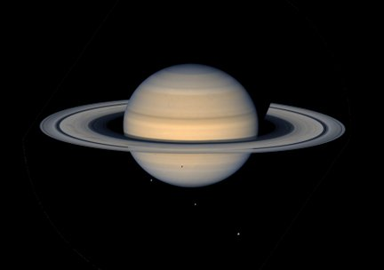 Saturn from Voyager 2