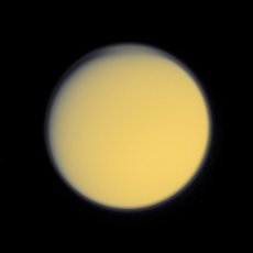 Titan from Voyager 2